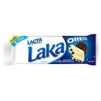 Chocolate Branco Laka Oreo Tablete 20g - Lacta