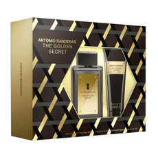 Kit Perfume The Golden Secret Antonio Banderas Masculino Eau de Toilette 100ml + Pós Barba 75ml