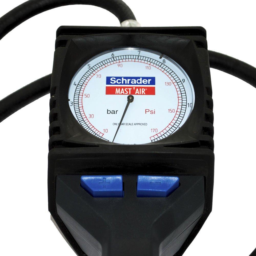 f25ea5d059b Calibrador de Pressão C  Relógio Mast Air - SCHRADER