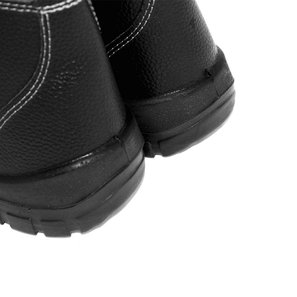 Botina De Seguranca Monodensidade Preta S Bico N 37 Bracol