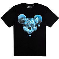 CAMISETA LOST MICKEY PRETO