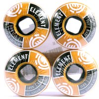 RODA SKATE ELEMENT DIVIDED BROWN 54 mm
