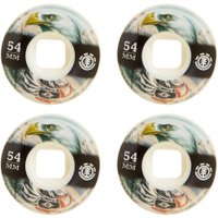 RODA SKATE ELEMENT EAGLES BLACK 54 mm