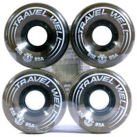 RODA SKATE ELEMENT TRAVEL BLACK 65 mm