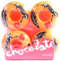 RODA SKATE CHOCOLATE WH ORANGE 53 mm