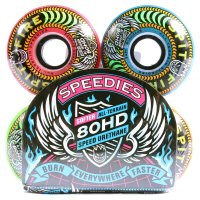 RODA SKATE SPITFIRE SPEEDIES COLORIDO 58 mm