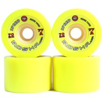 RODA LONG MOSCA SPEED YELLOW 70 mm
