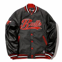 JAQUETA NEW ERA VARSITY COLLEGE CHICAGO BULLS