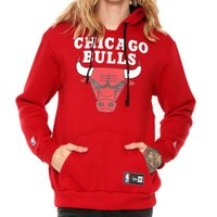 MOLETOM CHICAGO BULLS CANGURU NEW ERA