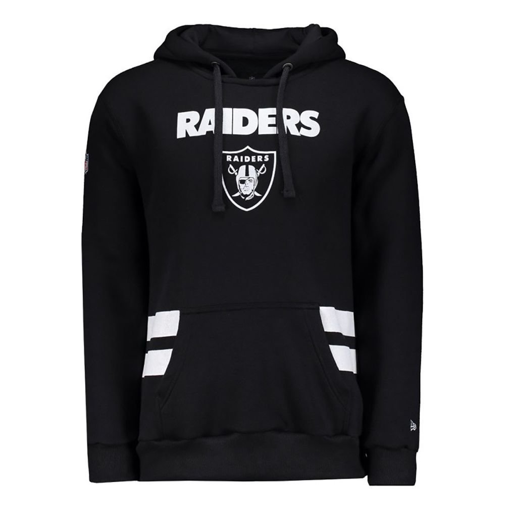 1b2216121c MOLETOM LISTRAS OAKLAND RAIDERS NEW ERA