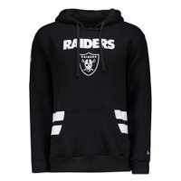 MOLETOM LISTRAS OAKLAND RAIDERS NEW ERA