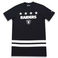 CAMISETA NEW ERA NUMBER STARS OAKLAND RAIDERS