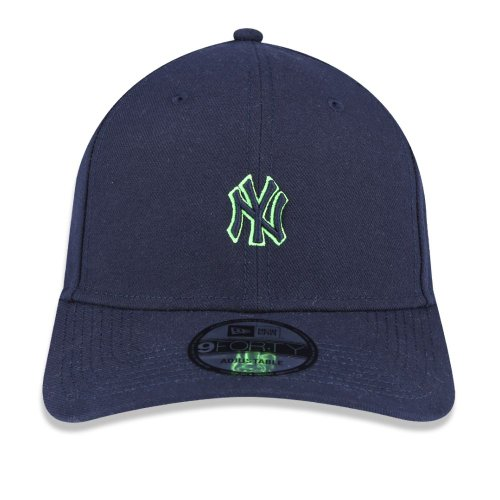 BONE 940 MINI LOGO NEON YANKEES NEW ERA