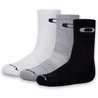 MEIAS CREW SOCK 3PACK 2.0 OAKLEY