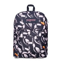 MOCHILA SUPER FX FARM TUCANOS TROPICAIS JANSPORT
