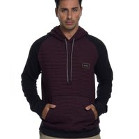 MOLETOM STRIPES HOOD QUIKSILVER