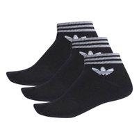 MEIA TRF ANKLE STRIPES 3PP ADIDAS