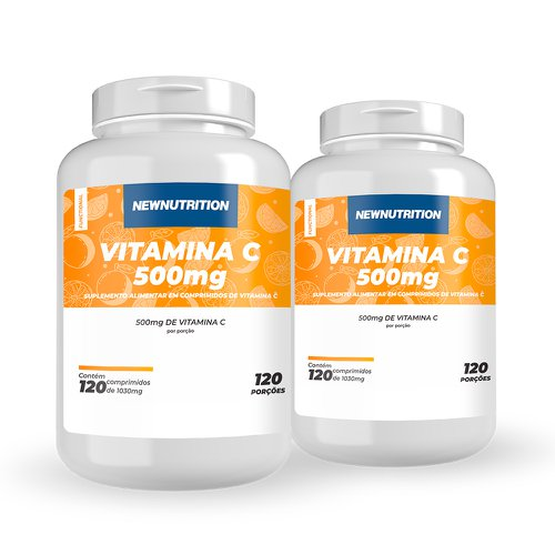 Combo 2 Vitaminas C 500mg