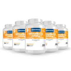 Combo 5 Vitaminas C 500mg