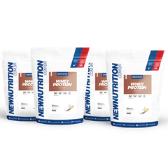 Combo Whey Protein 4 unidades