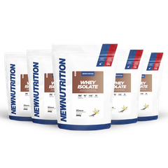 Combo 5 Whey Isolates