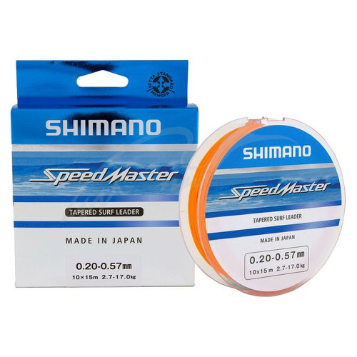 Linha Speed Master Tapered Surf Leader