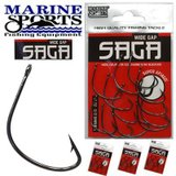 Anzol Wide Gap Saga Marine Sports Black Nickel