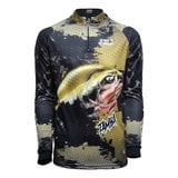 Camiseta De Pesca Rock Fishing Dry (Tamba)