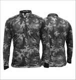 Camiseta De Pesca Rock Fishing Dry ( Camo Ice )