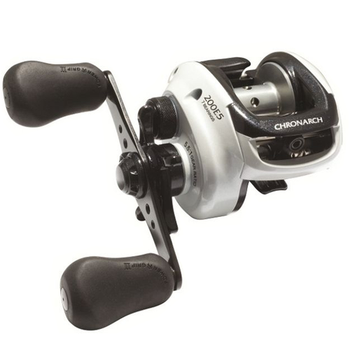 Carretilha Shimano Chronarch 200 E5  Man. Direita