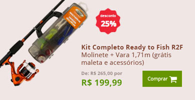 Kit Completo Ready to Fish R2F