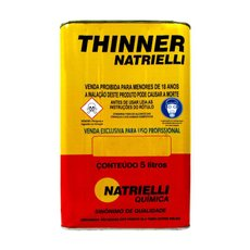 Thinner 5LT TH811605 - Natrielli