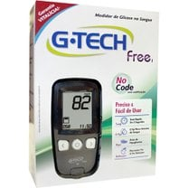 KIT MEDIDOR MONITOR DE GLICOSE FREE 1 - G-TECH