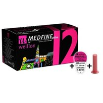 AGULHA CANETA INSULINA 12MM 29G MEDFINE PLUS WELLION