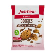 Biscoito Cookies Jasmine Integral Chocolate 150g