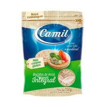 Biscoito de Arroz Camil Integral Mini 150g