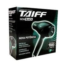 Secador Taiff New Black 127v
