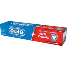 Creme Dental Oral-B Anticáries 123 70g
