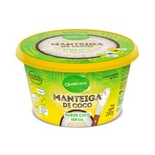 Manteiga Coco Qualicoco Com Sal Manteiga 200ml