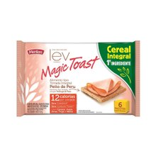 Torrada Magic Toast Peito de Peru Integral 130g