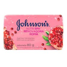 Sabonete Johnson'S Romã 80g