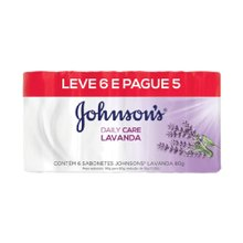 Sabonete Johnson'S Lavanda 80g Leve 6 Pague 5