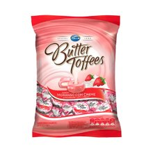 Bala Arcor Butter Toffees Morango 100g
