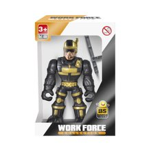 Brinquedo Bs Toys Boneco Work Force Collection