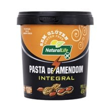 Pasta de Amendoim Natural Life Integral 450g