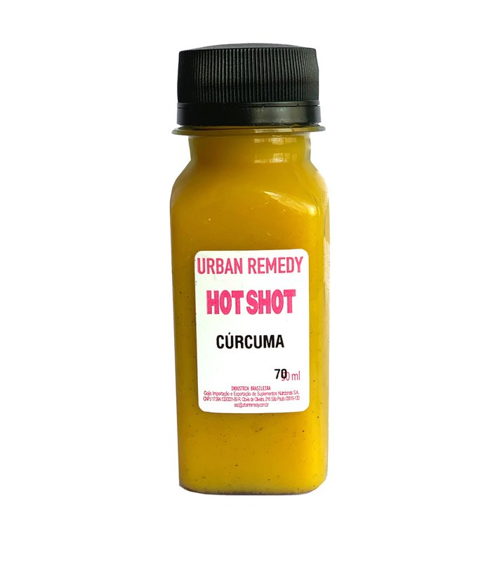 Hot Shot de Cúrcuma - 70 ml